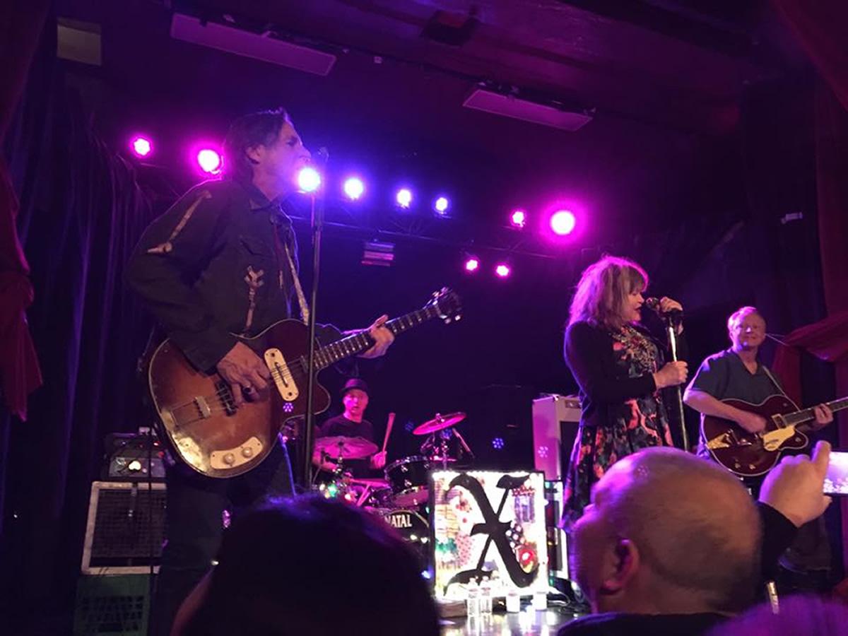 Jon Doe and Exene Cervenka Live in Portland