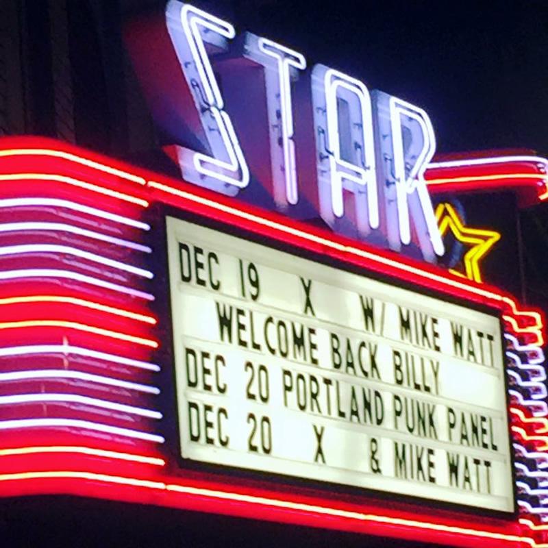 X and Mike Watt Live in Portland
