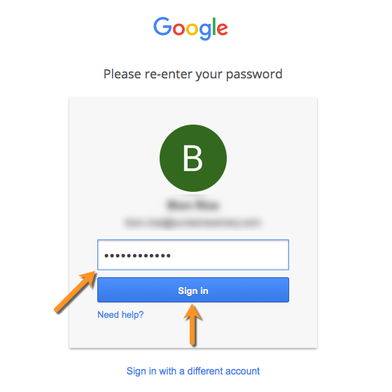 reenter_google_password_tut